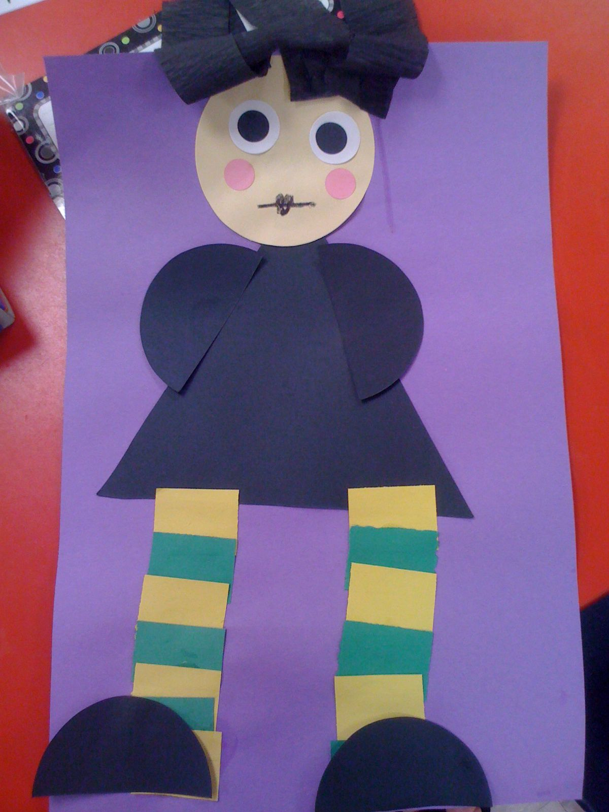 We read Miss Nelson is Missing and we made Viola Swamp We will