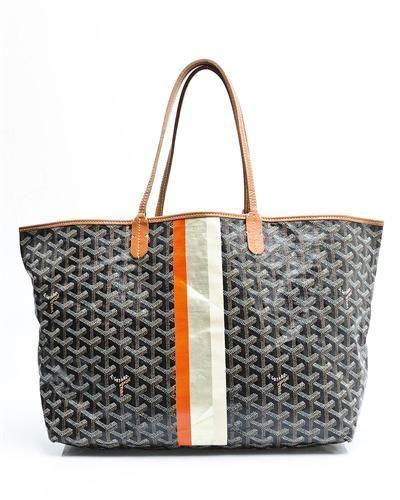 Luxstyleu Goyard LU St Louis Stripe Tote Bag Made In France - Invoice template word free goyard online store