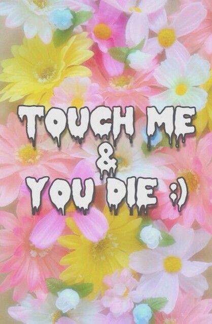 touch me & you die :)