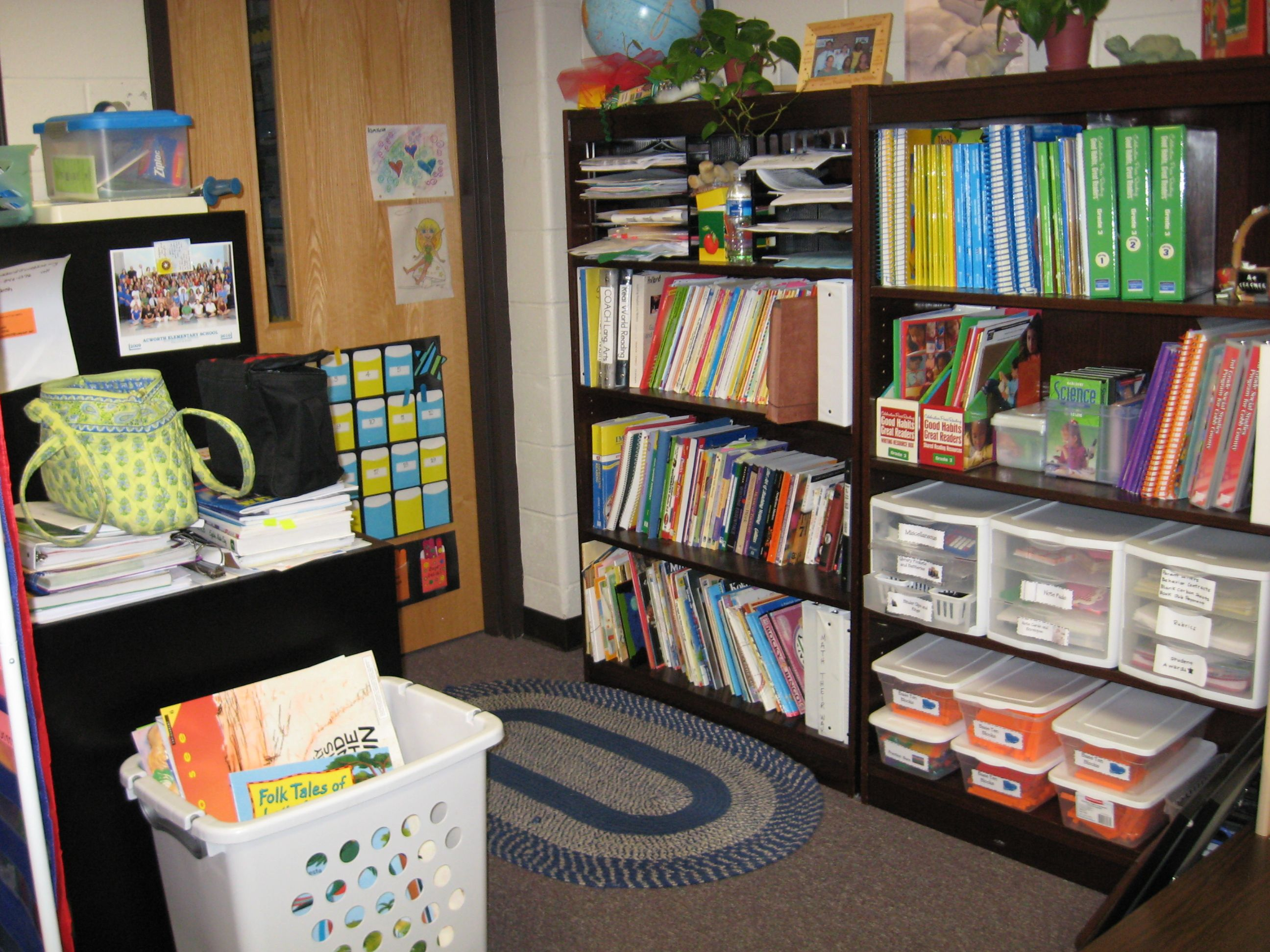 How To Organize Your Supplies If Getting Rid Of Teacher