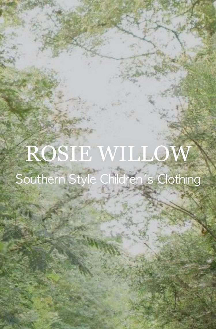 southern style children's clothing || www.rosiewillow.com