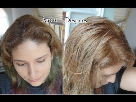 Aclarar el pelo con manzanilla antes y despues de adelgazar