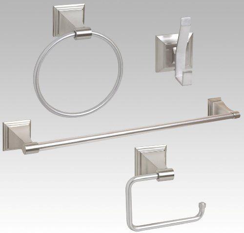 Pin By Bev Miller On Bathyroom Bathroom Hardware Brushed Nickel