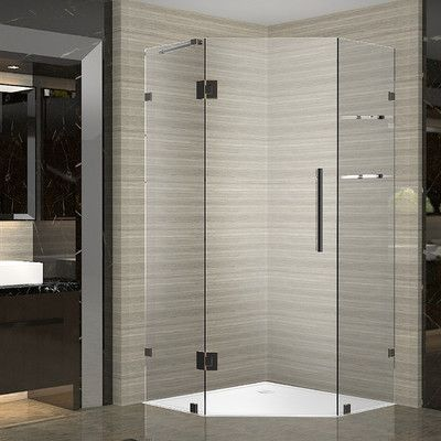 Aston Neoscape Gs 40 X 40 X 72 Completely Frameless Neo Angle