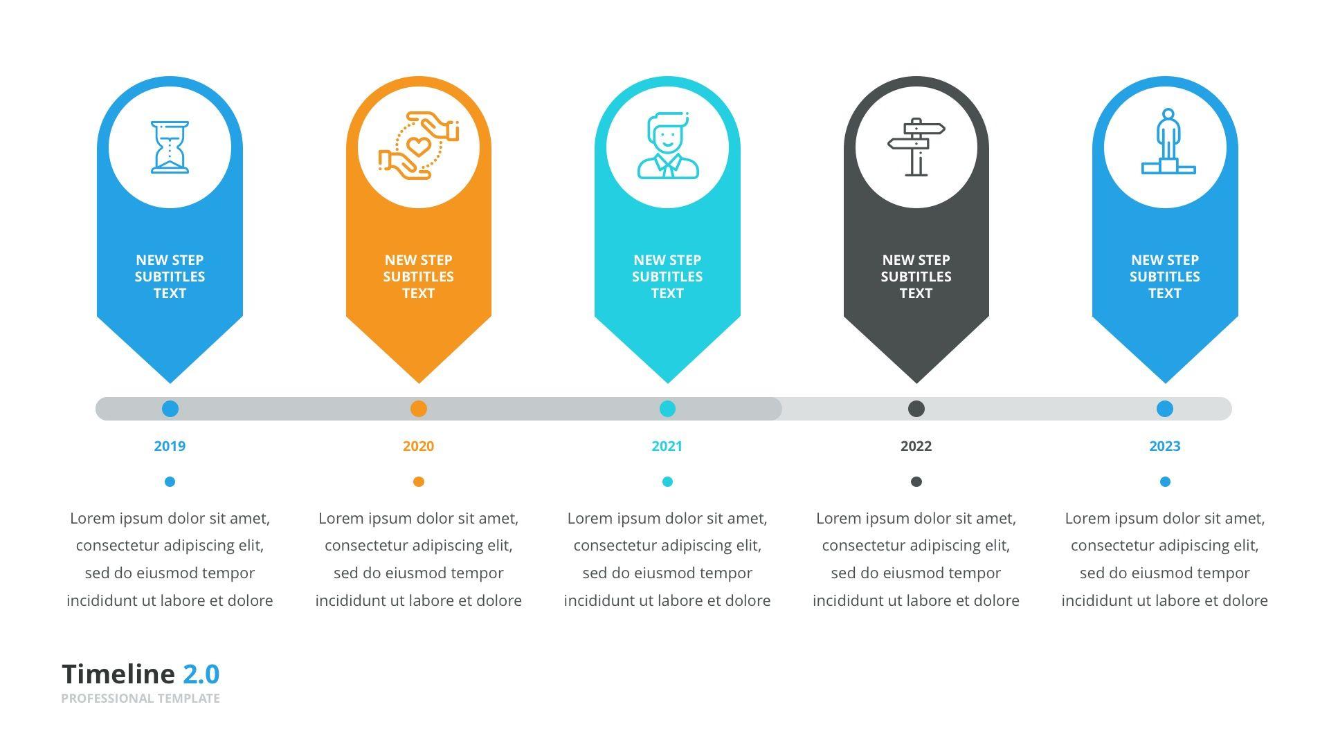 Timeline Pack 50 In 1 For Keynote Keynote Timeline Poster