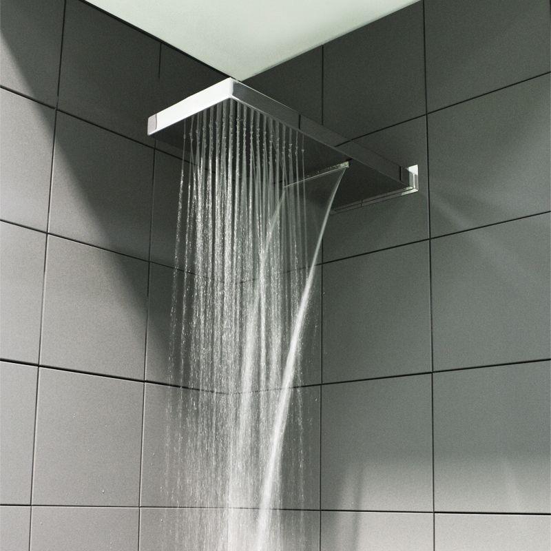 Soffione doccia compatto ed ecologico per installazione a parete - www.ladocciaitaliana.it ...