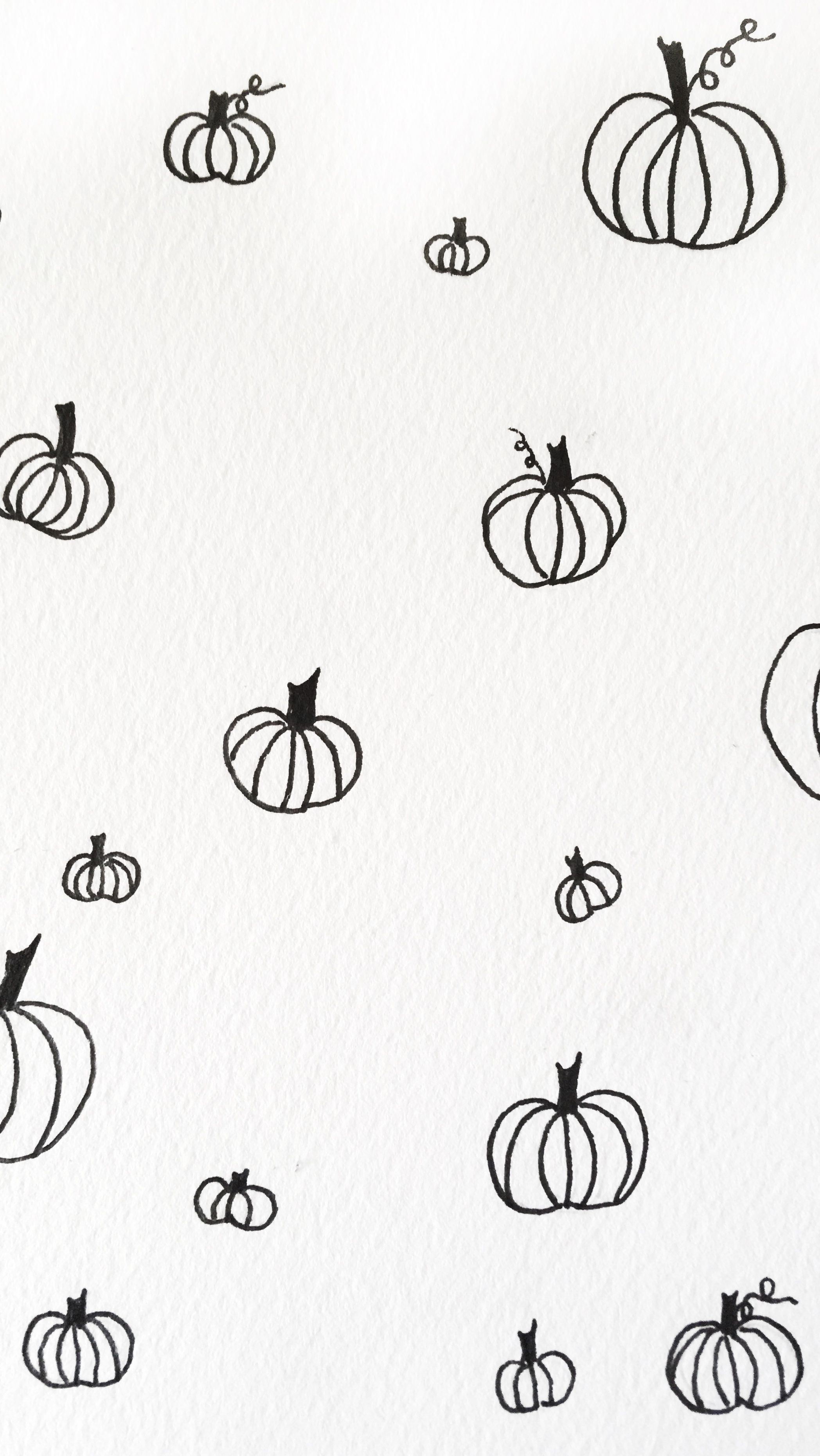 Black And White Pumpkin Iphone Watercolor Wallpaper Watercolor Wallpaper Iphone Halloween Wallpaper Iphone Black And White Wallpaper Iphone