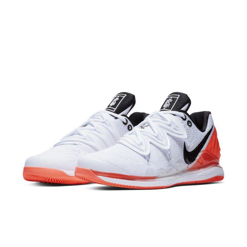 Nikecourt Air Zoom Vapor X Kyrie 5 Men S Hard Court Tennis Shoe White Nike Vapor Nike Mens Athletic Shoes