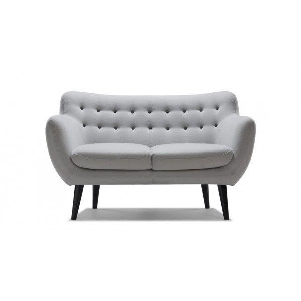 Canapé Sentou canape sentou 2 places laine : mobilier contemporain sentou   nouvel