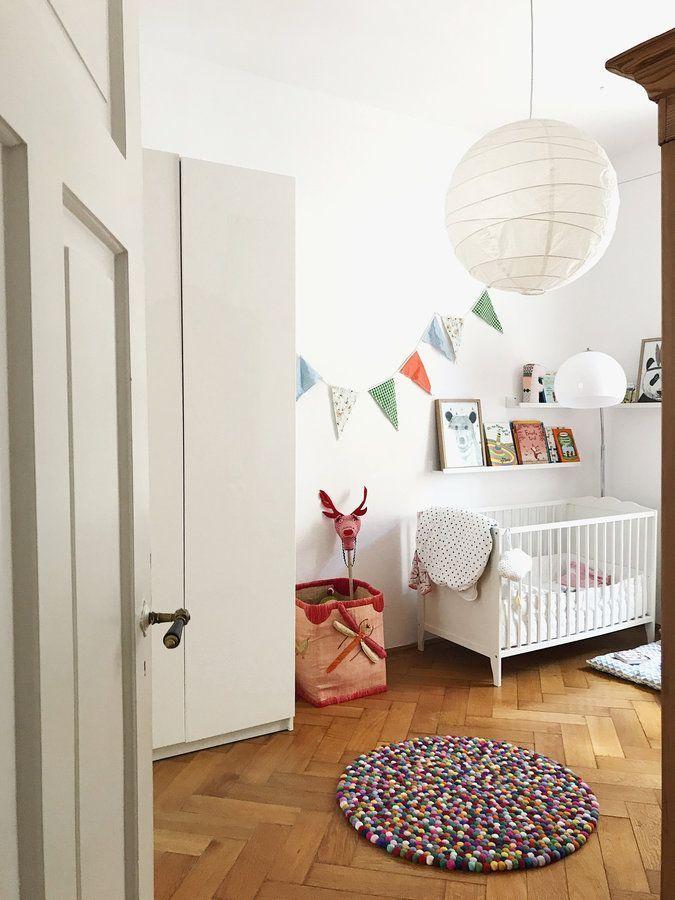 Hereinspaziert! 10 neue Wohnungseinblicke | Babyzimmer Ideen ...