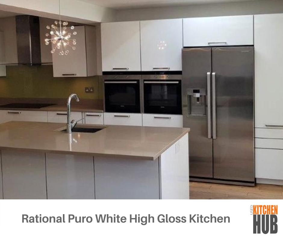 Rational Puro White High Gloss Laminate 22mm Acrylic Glass