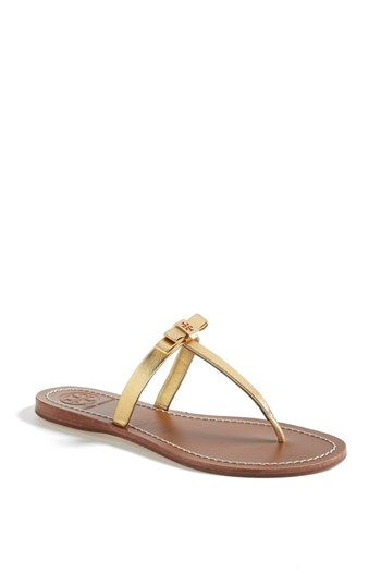 52b38d05a49 Tory Burch  Leighanne  Thong Sandal (Online Only) available at  Nordstrom   Leigh-Anne Pou