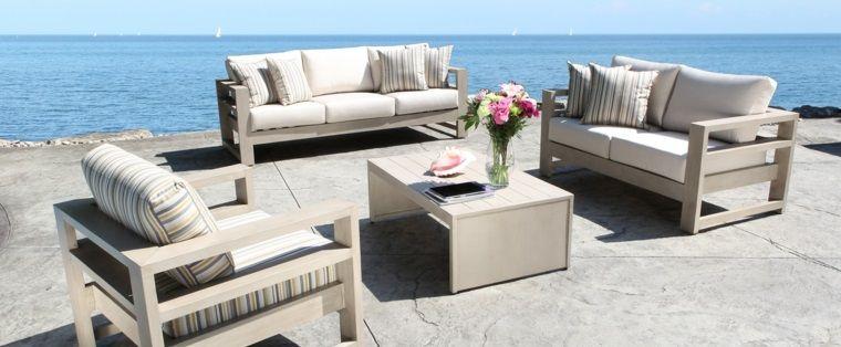 Sofá de exterior 50 diseños envidiables | Pinterest | Sofá y Bancos