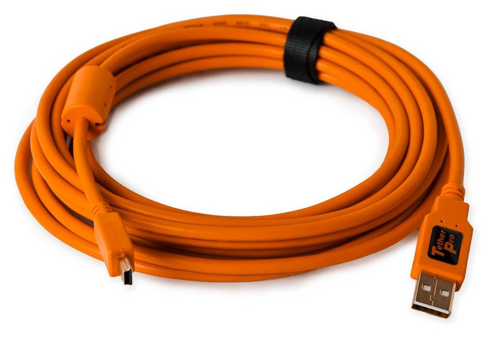 Nikon tethering cable