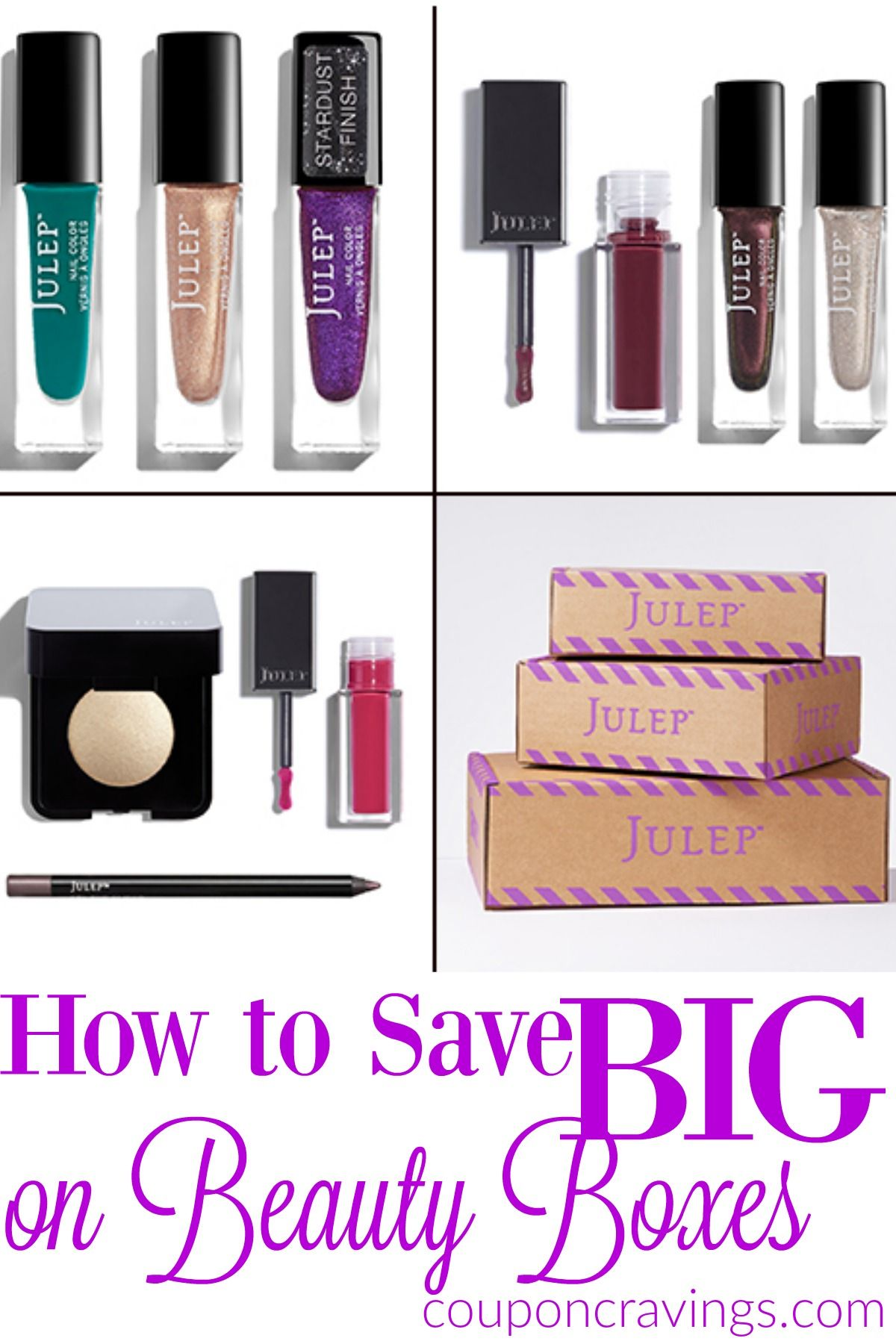 $50 Value! Free Health and Beauty Julep Box (Just Pay $2.99 Shipping ...