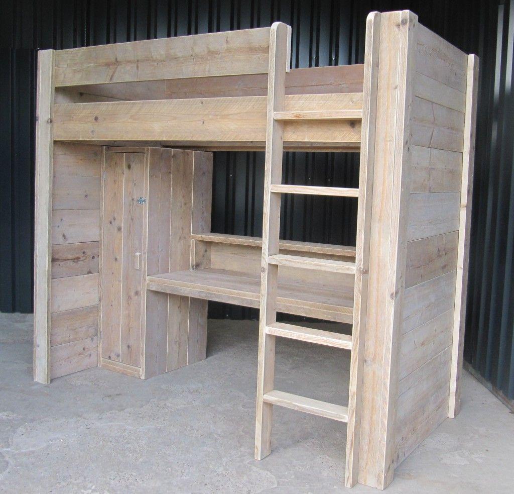 Hoogslaper Bureau Kast Bouwtekening In 2019 Furniture