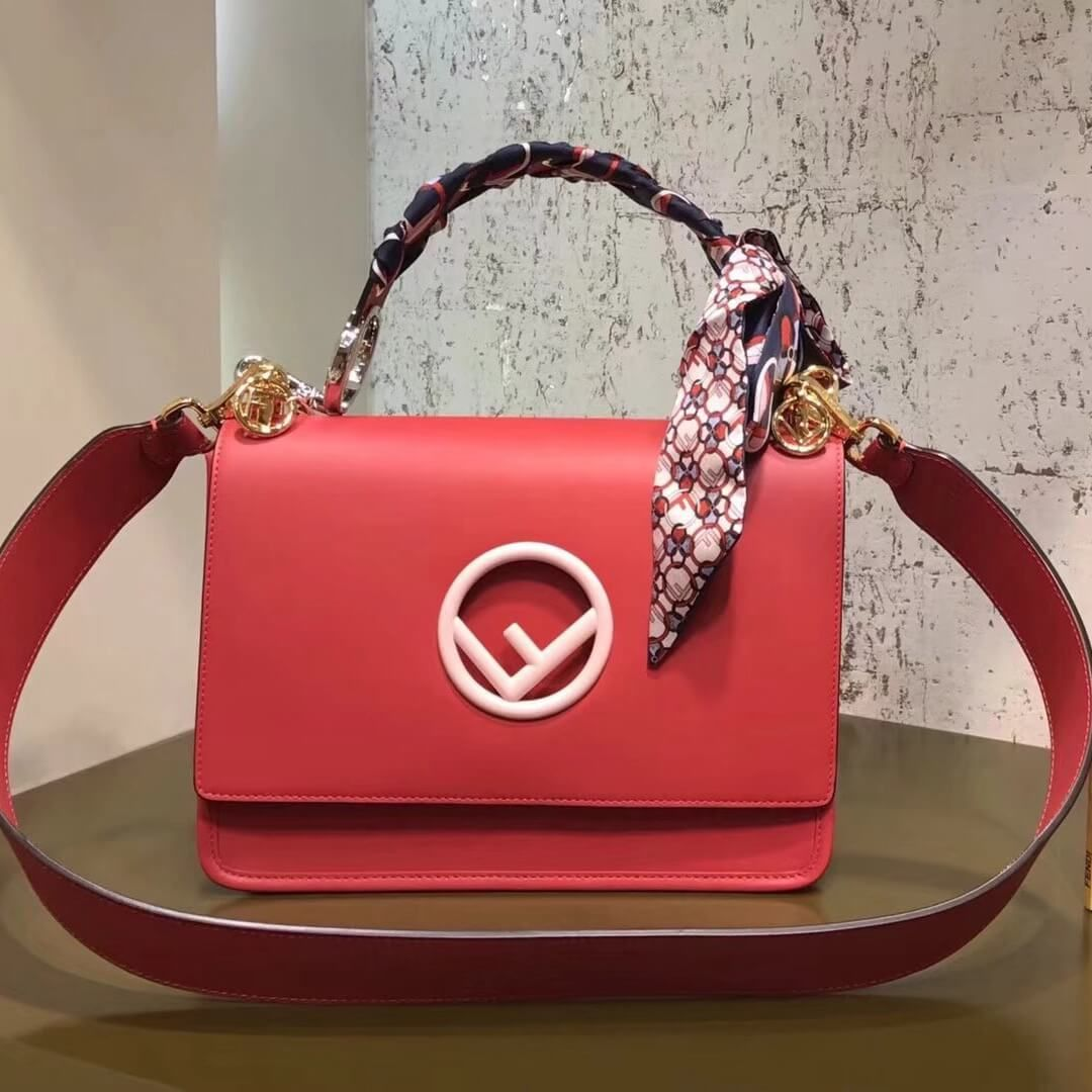 1c326ebc30d1 Fendi Kan I F Bag 100% Authentic 80% Off