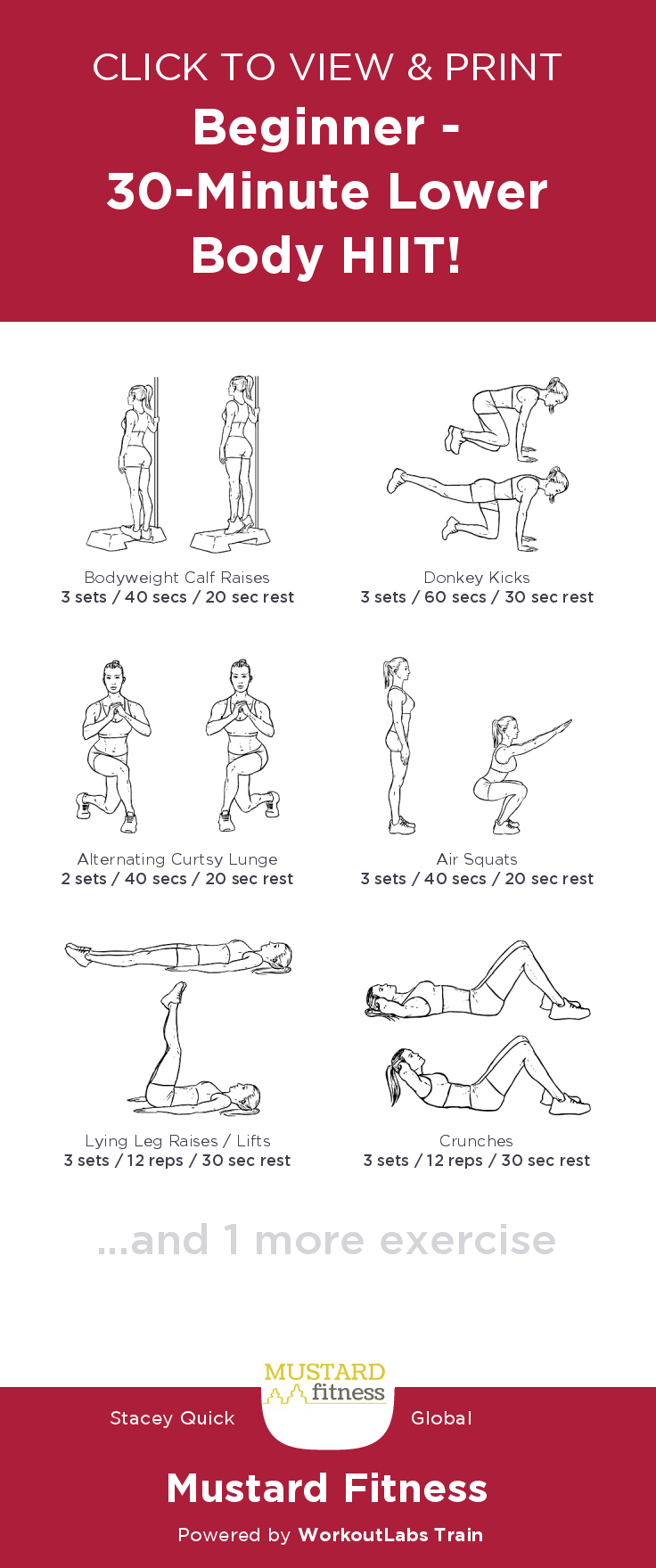 Pin on Free Workouts!