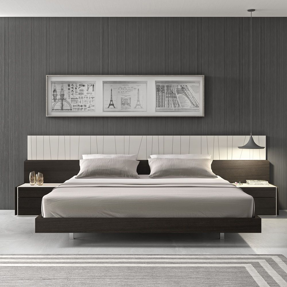 Porto Premium Bedroom Set :: Bedroom :: Modern Furniture | Contemporary  Furniture | Modern Bedroom | NY New York Manhattan | NJ New Jersey