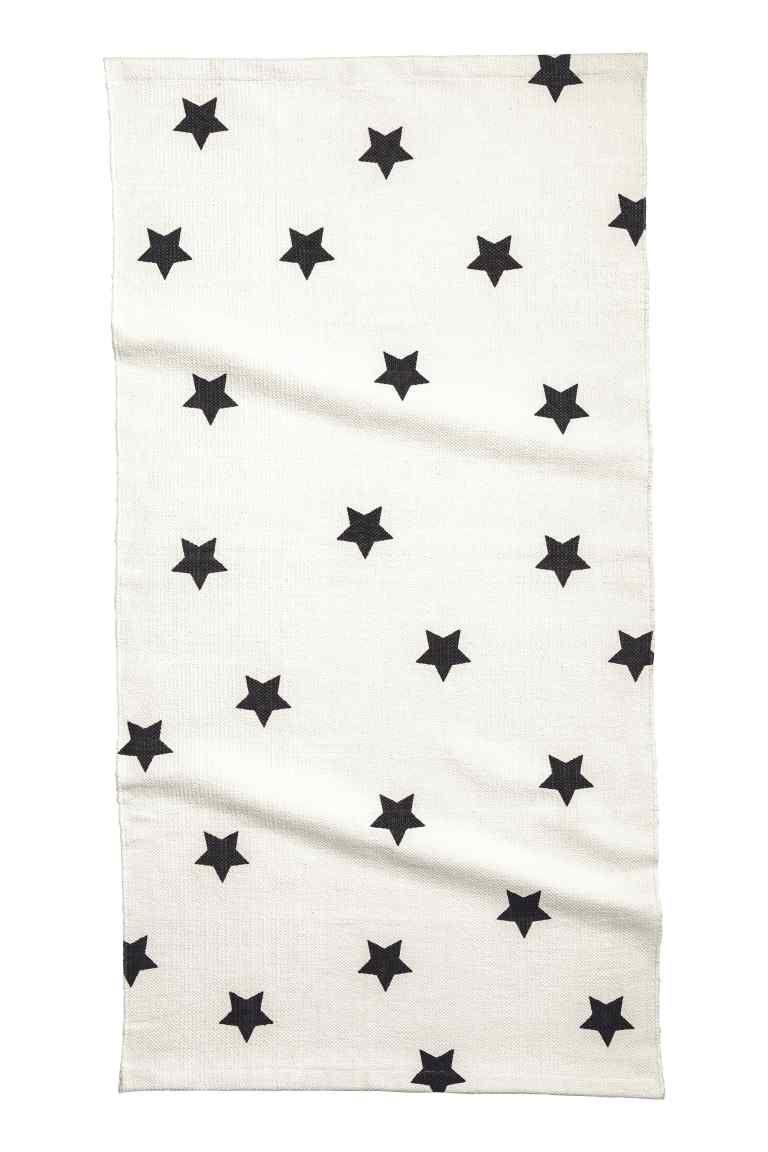 Tappeto con stampa a stelle | H&M