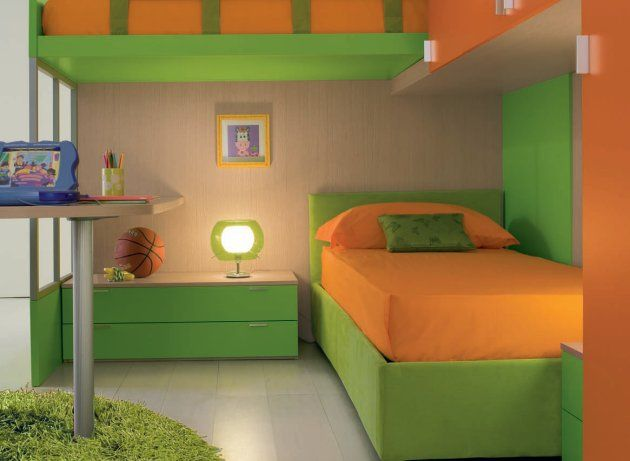 Contemporary Children S Bedrooms From Gab Green Kids Rooms Kids Bedrooms Colors Modern Kids Room Modern green ergonomic kids bedroom