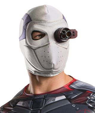 Brand New Suicide Squad Deadshot Light-Up Adult Mask