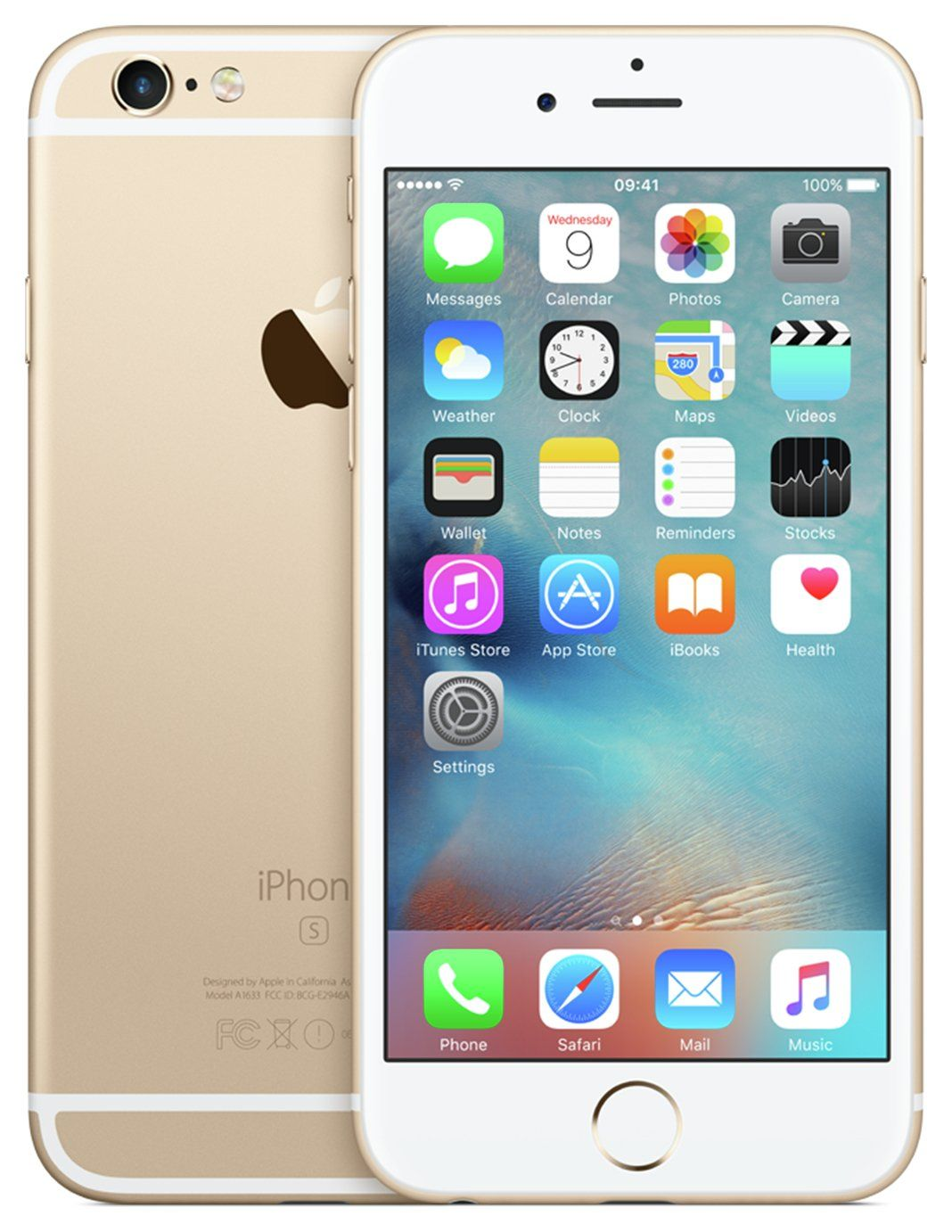 Sim Free Iphone 6s 32gb Mobile Phone Gold In 2020 Iphone Apple Iphone Apple Iphone 6s Plus