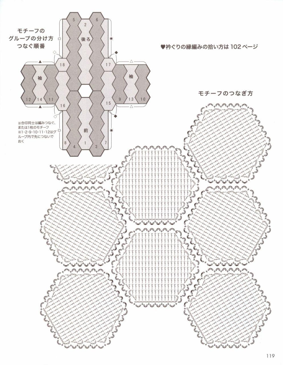 Японский журнал «Lets knit series 80561». Осень-зима 2017 | Dla domu ...