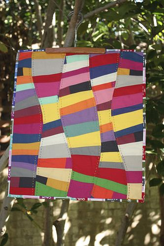 color curves mini quilt | Flickr - Photo Sharing!