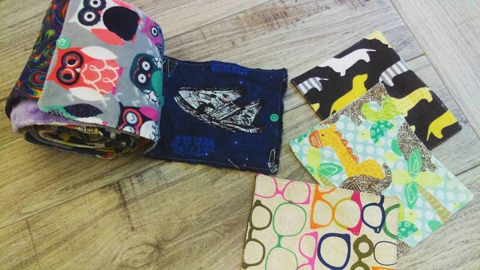 Cloth Wipes, Reusable Washable Toilet Paper, Family Cloth, Cloth ...