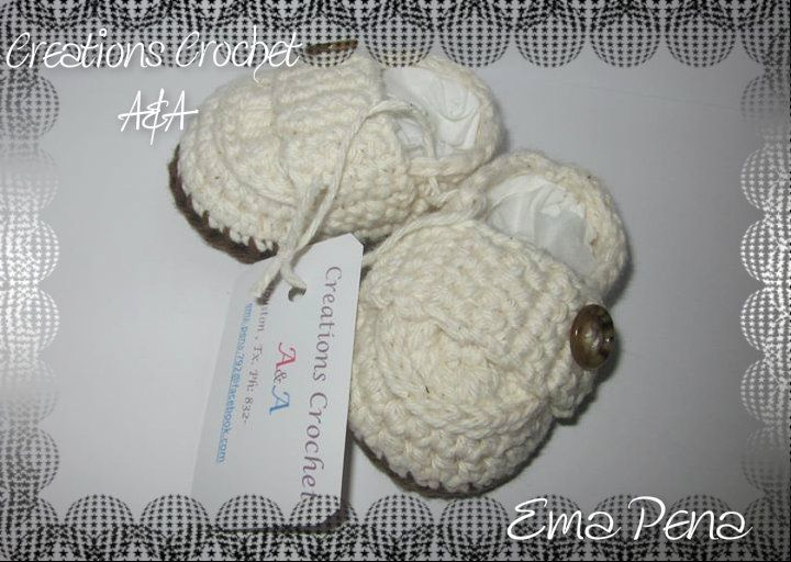 loafers  baby crochet