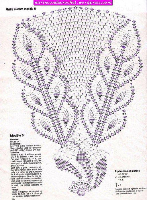81776447_large__10_2 | Crochet and Knitting | Pinterest | Centro ...