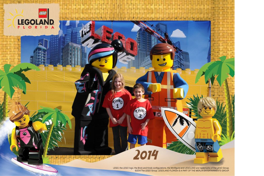 LEGO Movie Characters at LEGOLAND Florida!