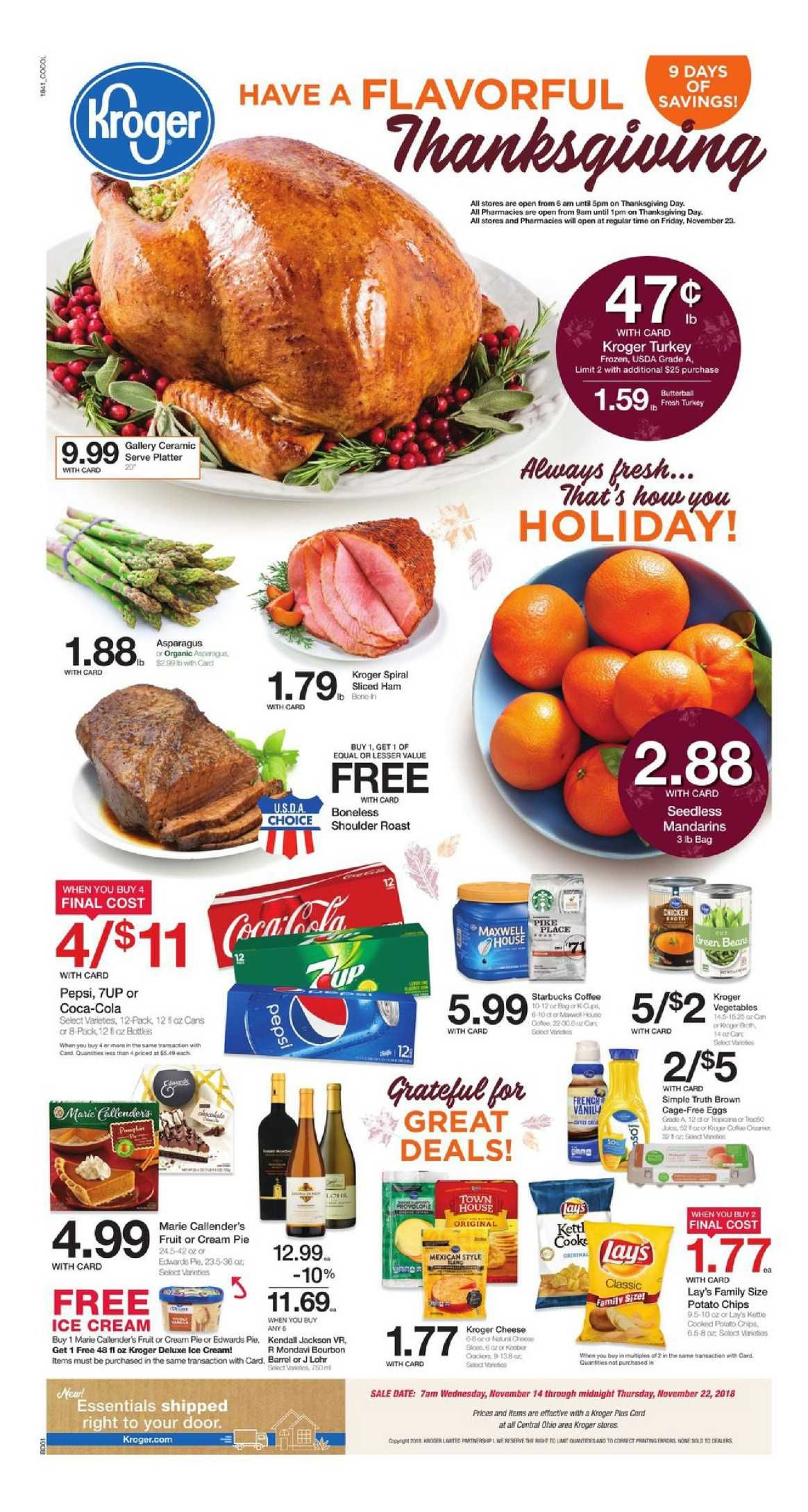 Kroger Weekly Ad Flyer March 11 17 2020 Weeklyad123 Com Grocery Ads Grocery Weekly Ads