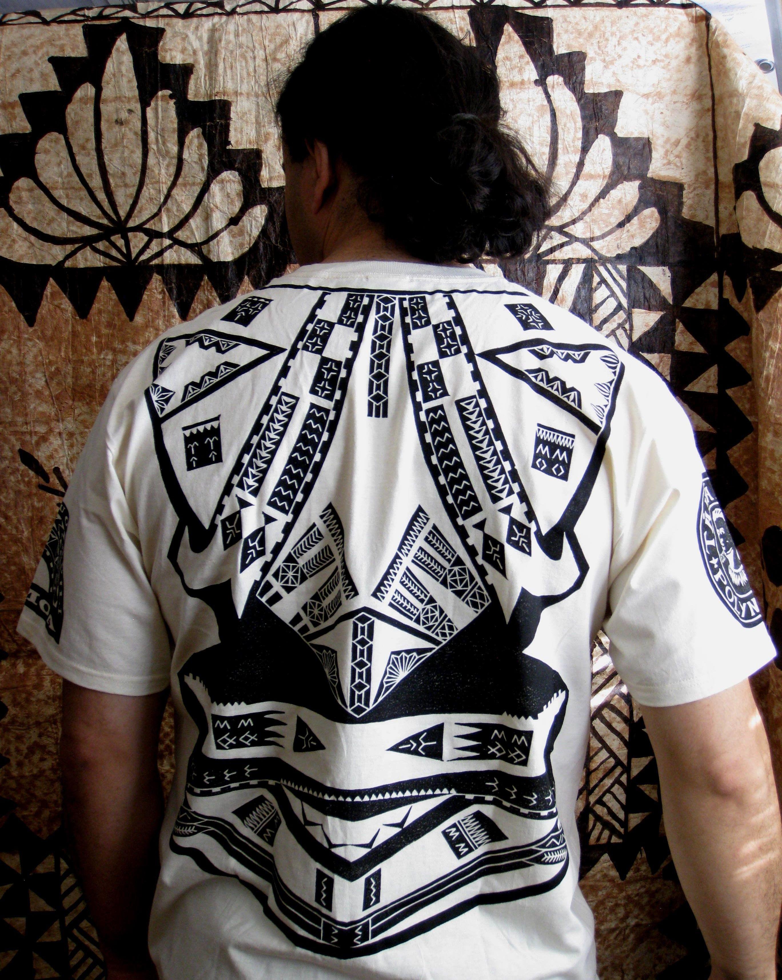 Design shirt kooga - Samoan Style Shirt Back