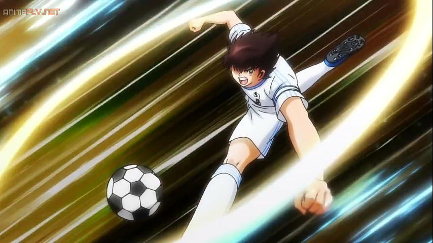 Tiro Con Efecto Capitan Tsubasa Captain Tsubasa Poses De Futbol