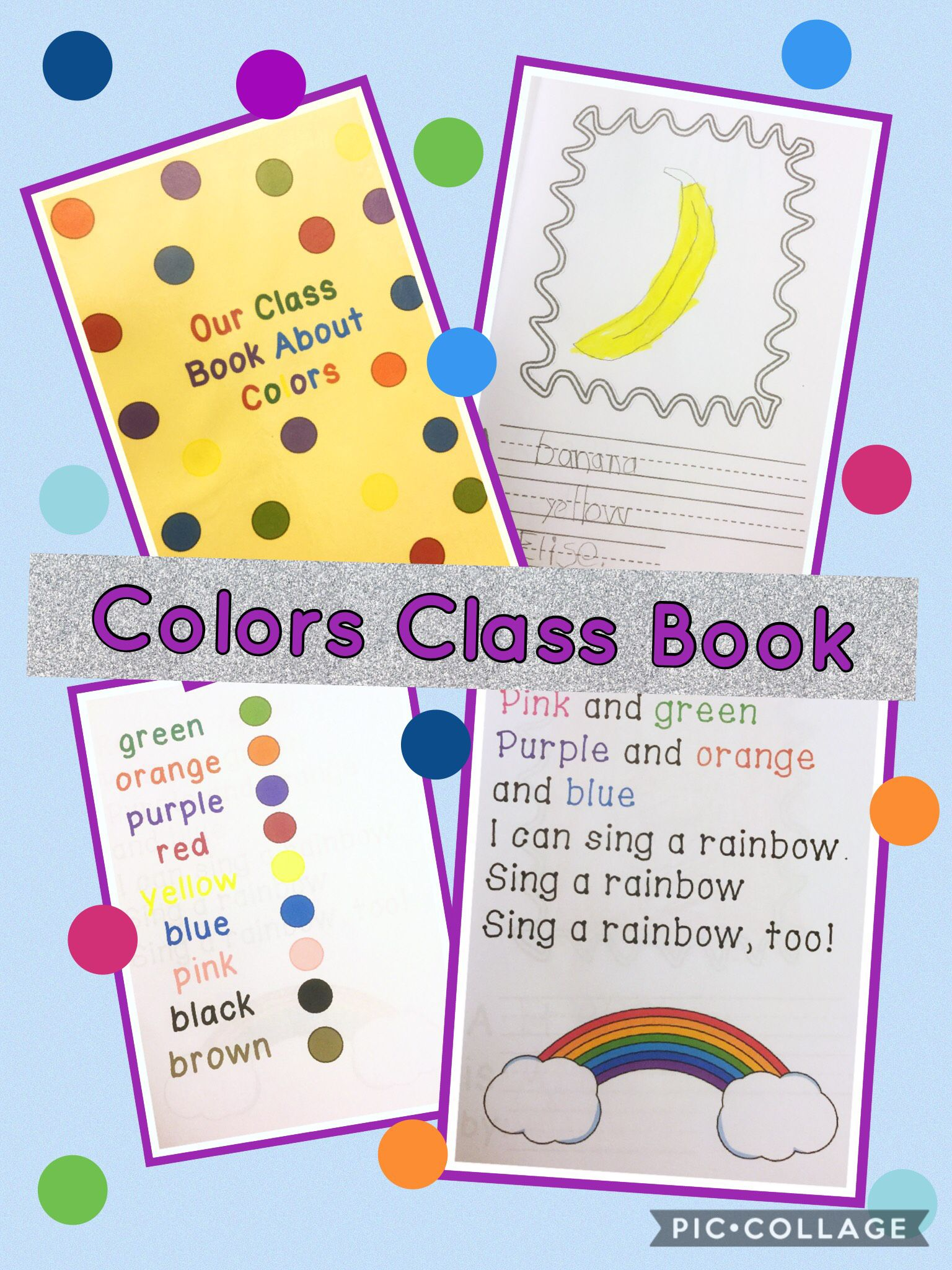 Our Class Color Book For K To Grade 1