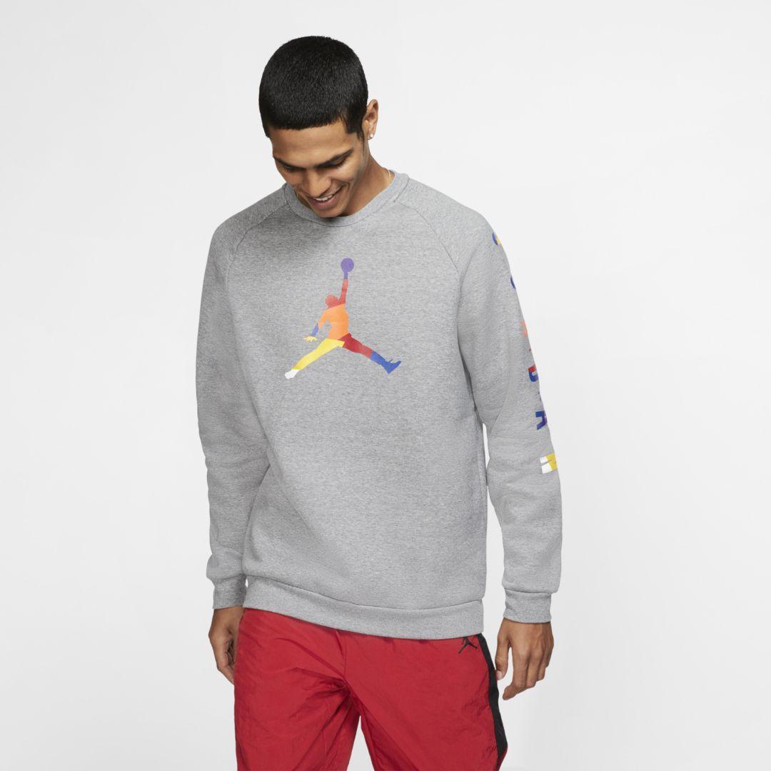 neuer Stil Nike Statement Crew Sweatshirt, grün, Gr. M