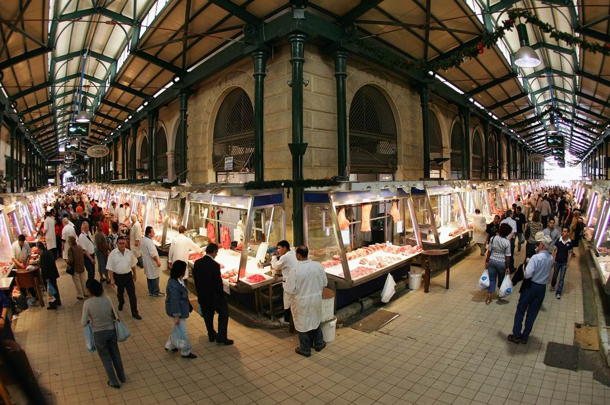 Image result for Athens Central Market