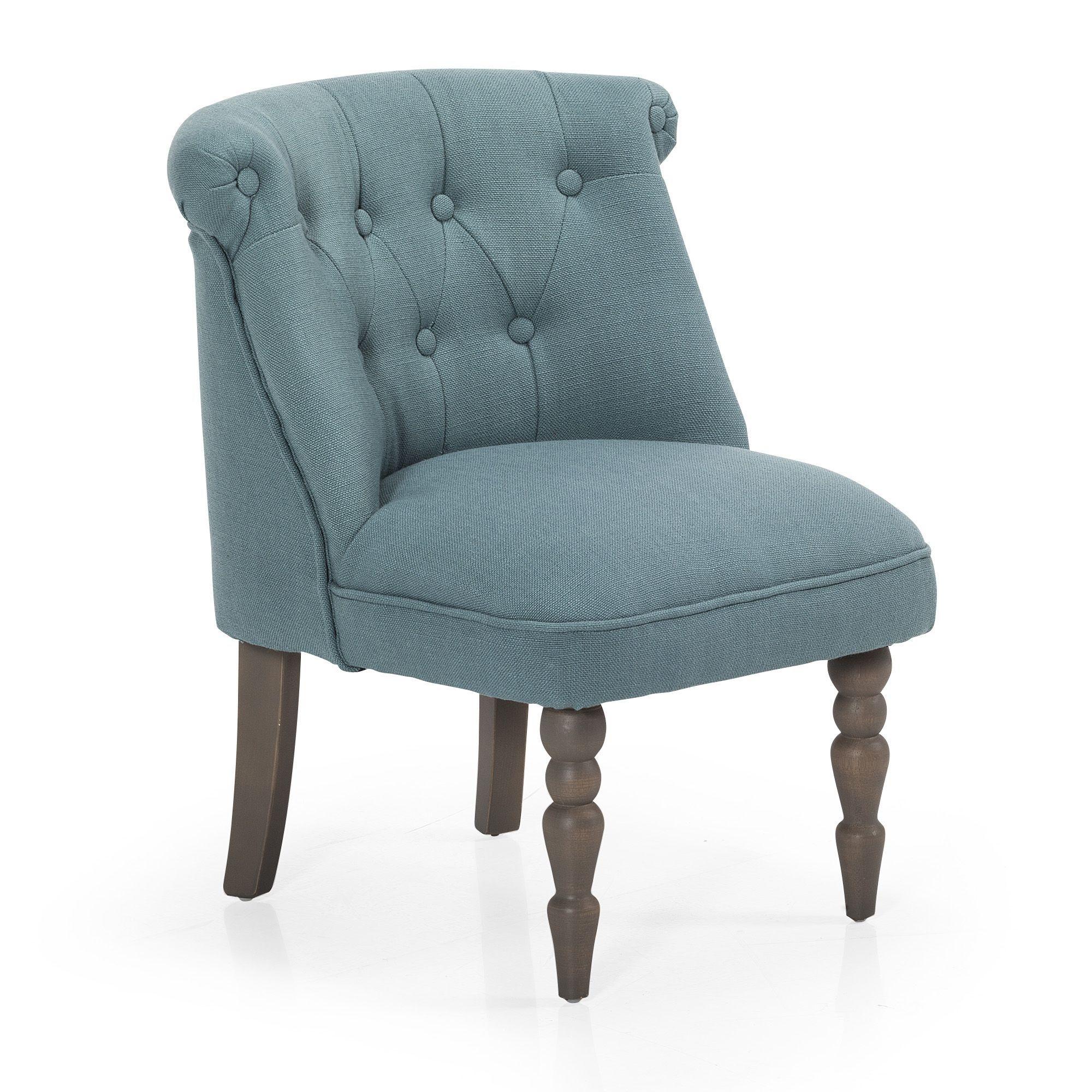fauteuil style crapaud pour enfant bleu bleu mini. Black Bedroom Furniture Sets. Home Design Ideas