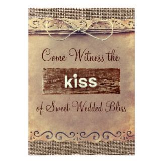 Country Wedding Invitations Sayings 220 Announcements