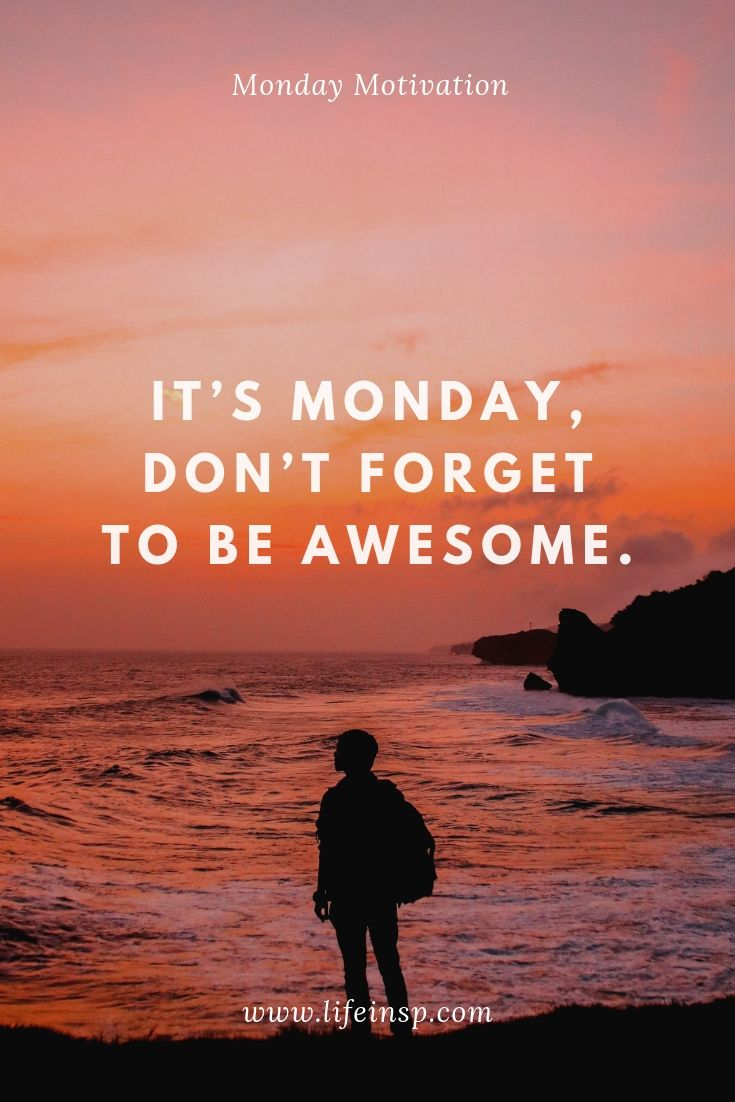 20 Monday Motivation Positive Thoughts