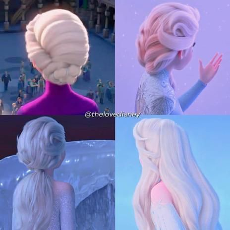 Elsas hairstyles are amazing