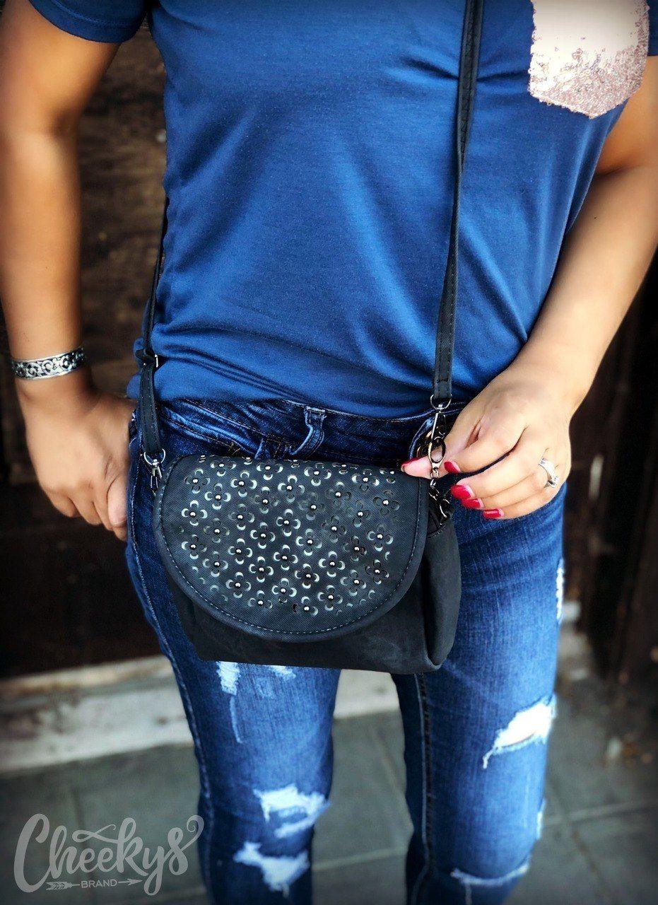 bbe0e982c964 Annabelle Floral Crossbody Bag in Black #purse #handbag #crossbody  #countrygirl #womenswear #womensfashion