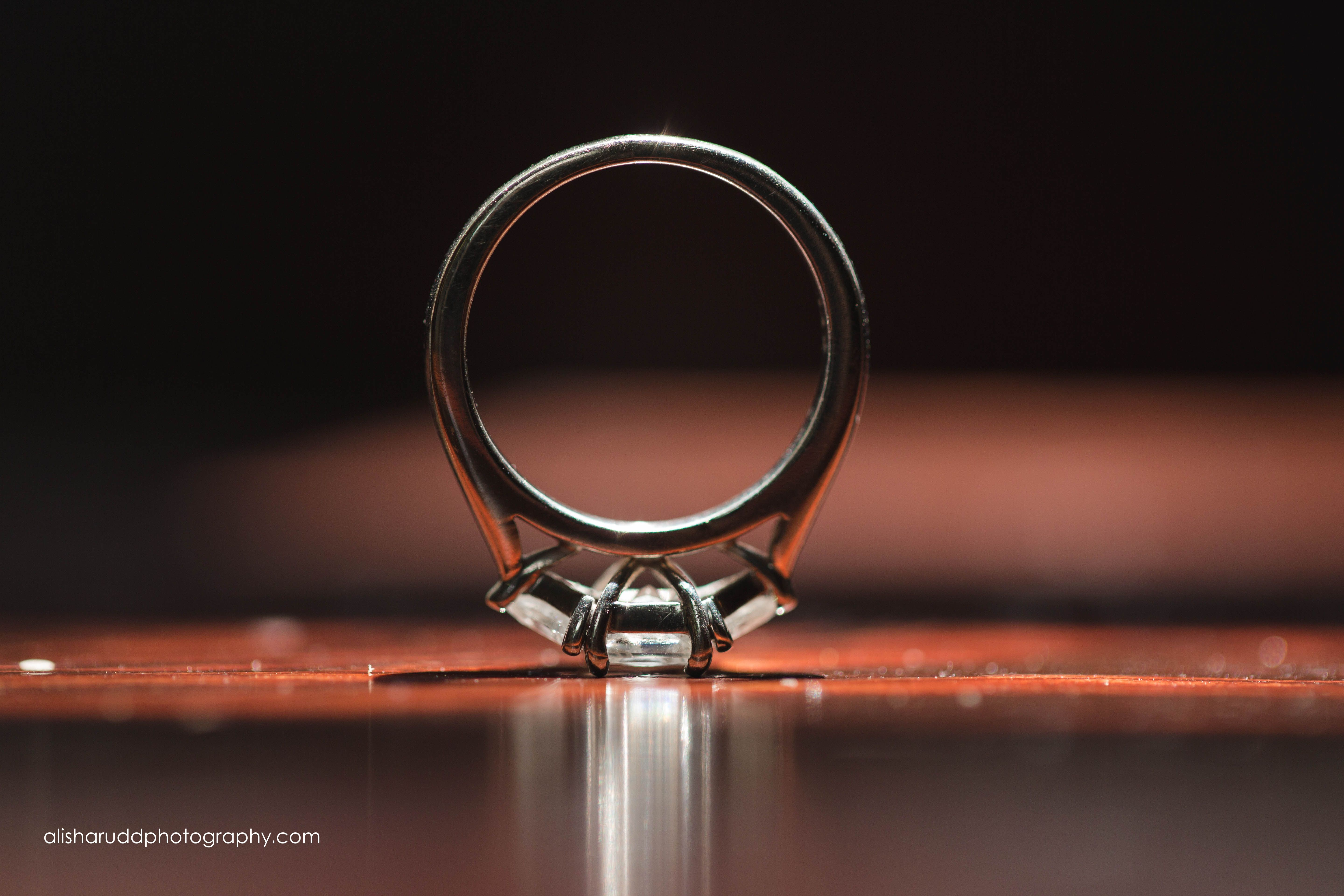 Diamond Ring - Alisha Rudd Photography - www.alisharuddphotography.com - #bling #ice #diamond #diamondring #weddingring #macro #macroringshot