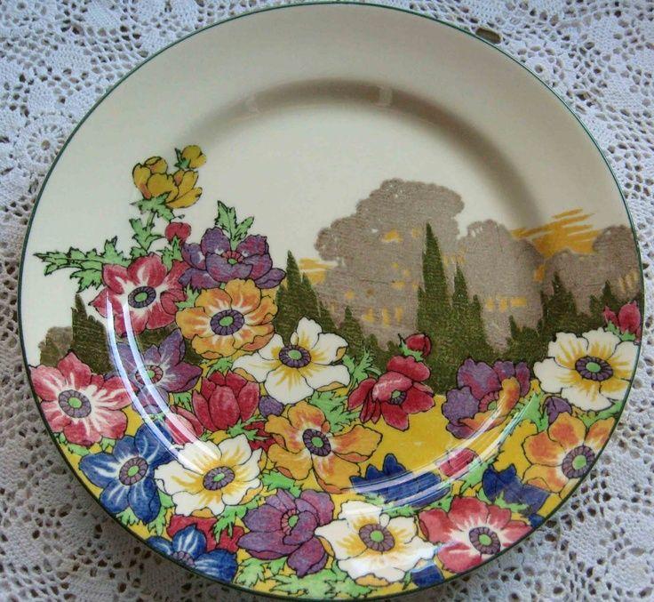 vintage royal doulton china patterns | Royal Doulton Flower Dinner Plate & vintage royal doulton china patterns | Royal Doulton Flower Dinner ...