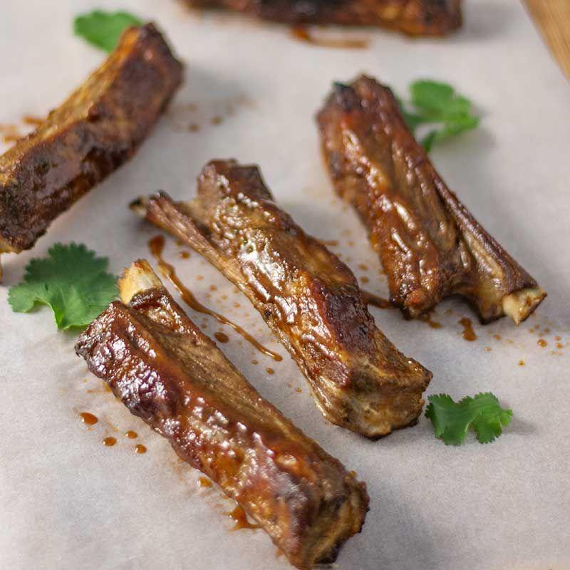 Bbq Lamb Riblets Recipe Sweet Sticky Ribs Healthy Sugar Free Recipe Lamb Riblets Recipe Riblets Recipe Bbq Lamb