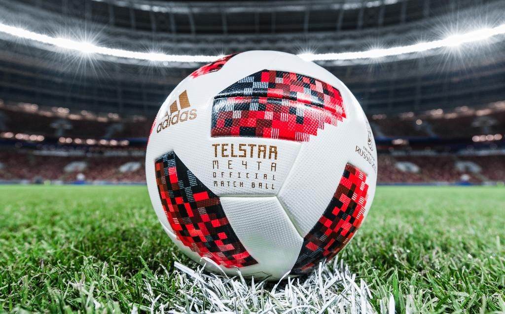 The Adidas Telstar 18 Mechta For The World Cup Knockout Phase Buy It Here Https Www Soccerpro Com Product Category Soccer Balls