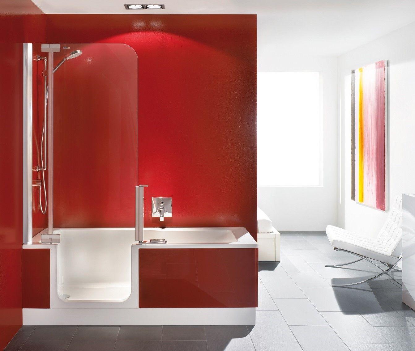 Artweger Twinline 2 Duschbadewanne für Duschtür 170x80cm