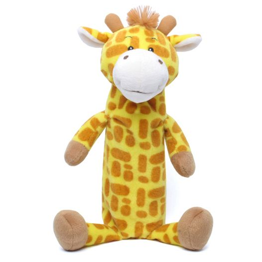 Krackle Zoo Water Bottle Cover Giraffe Dog Toy Dog Boutique Dog